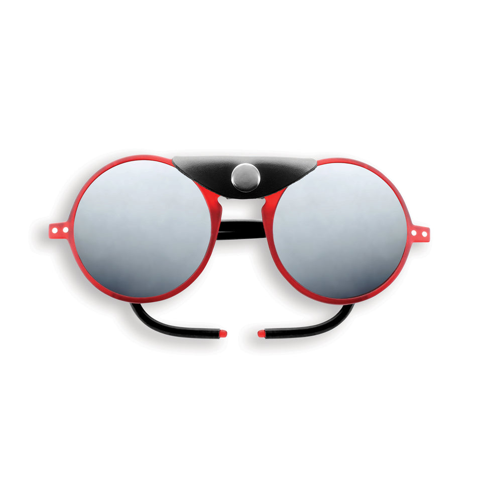 Red #SUN Glacier Sunglasses by Izipizi