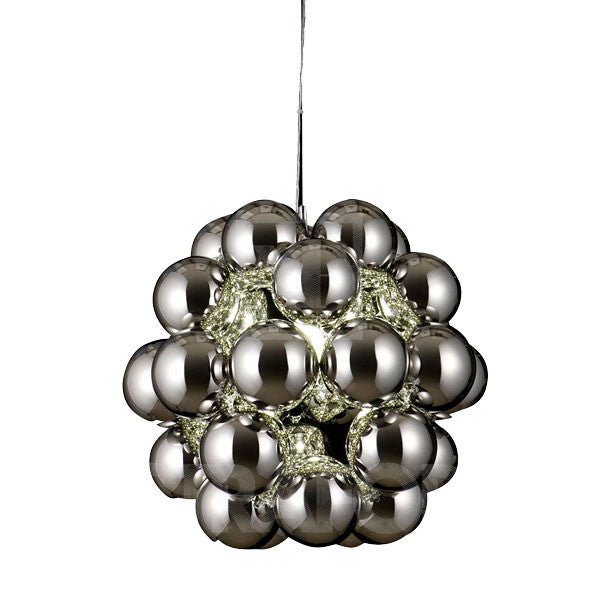 Beads Penta Pendant Chrome by Winnie Lui for Innermost - Vertigo Home