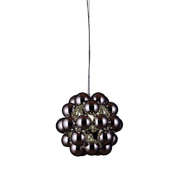Beads Penta Pendant Gunmetal by Winnie Lui for Innermost - Vertigo Home