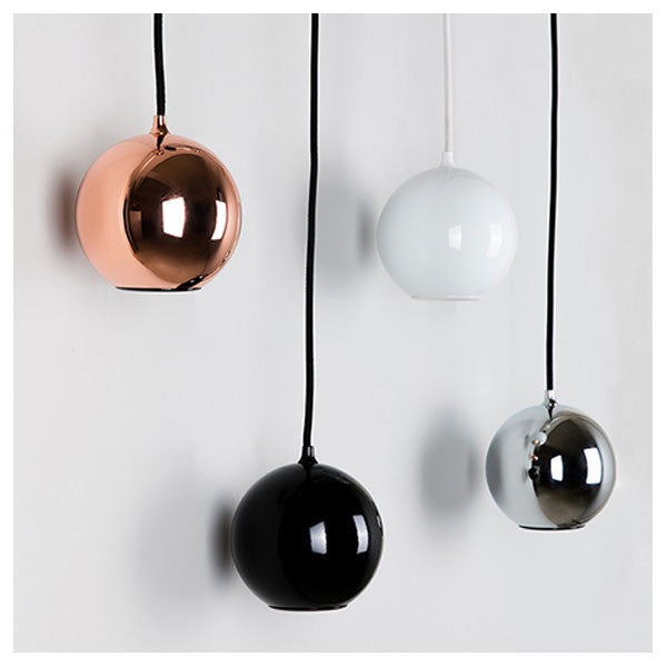 Boule Pendant Light White by Innermost