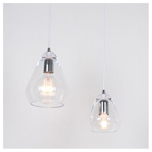 Core 15 Pendant Clear by Steve Jones for Innermost - Vertigo Home