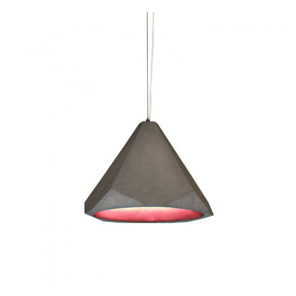 Portland Pendant Red by James Bartlett for Innermost