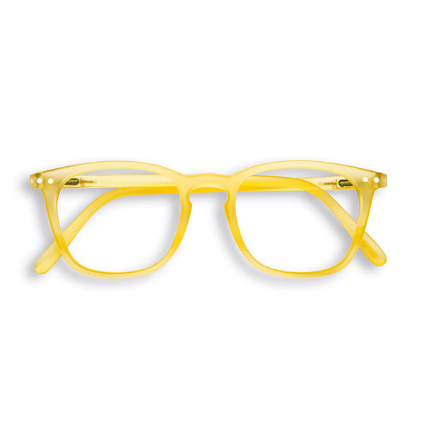 Yellow Chrome #E Reading Glasses by Izipizi - Limited Edition