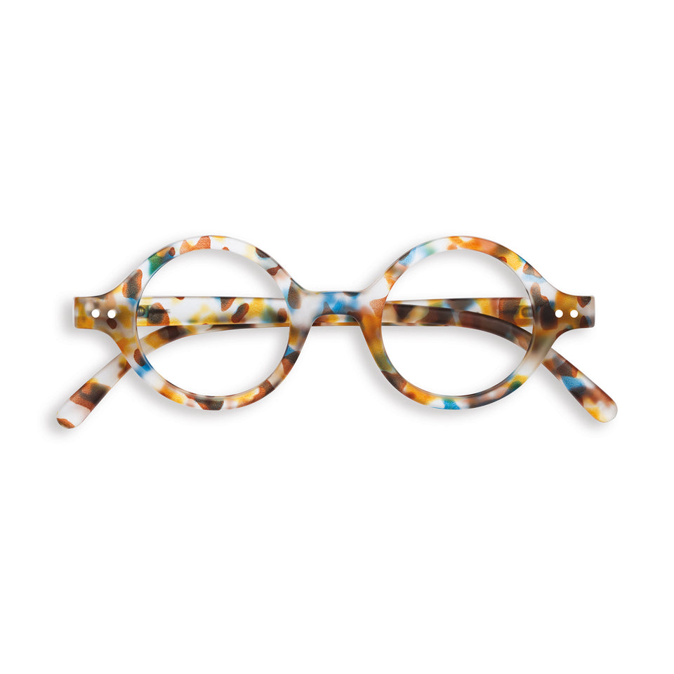 Blue Tortoise #J Reading Glasses by Izipizi
