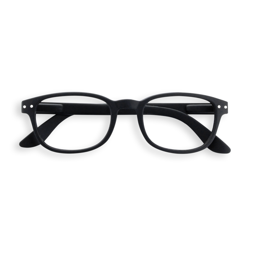 Black #B Reading Glasses by Izipizi