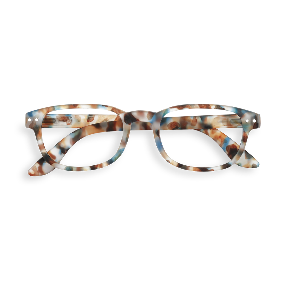 Blue Tortoise #B Reading Glasses by Izipizi