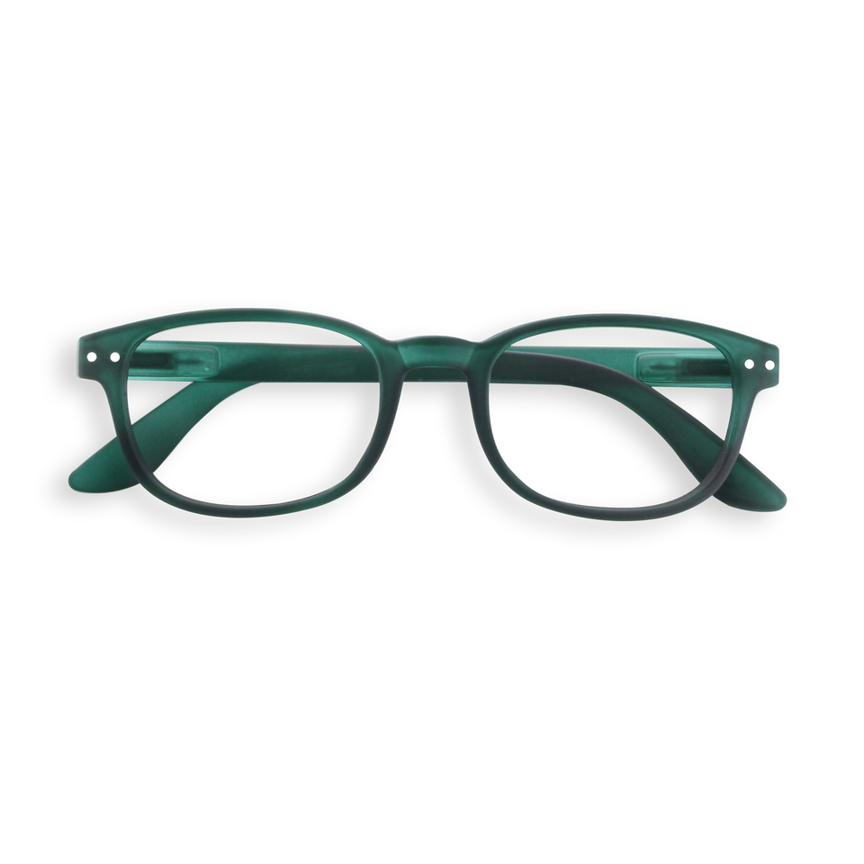 Green Crystal #B Reading Glasses by Izipizi