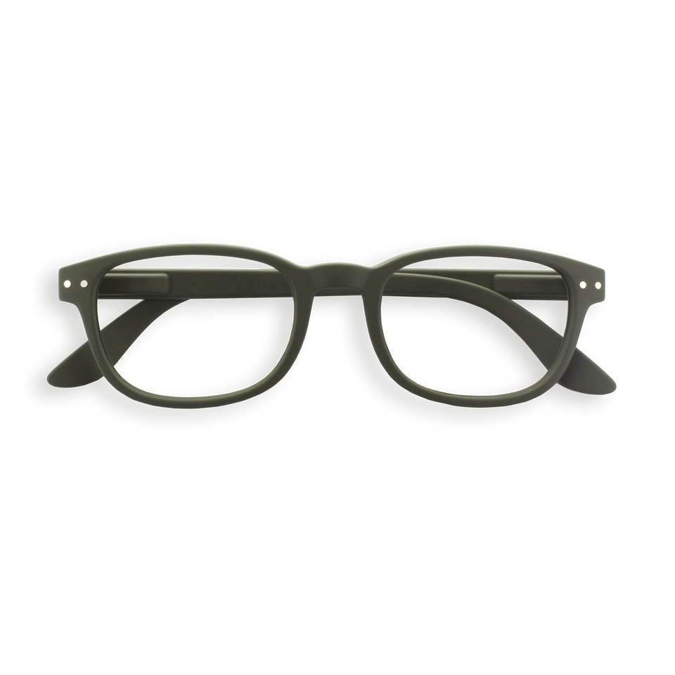 Kaki Green #B Reading Glasses by Izipizi