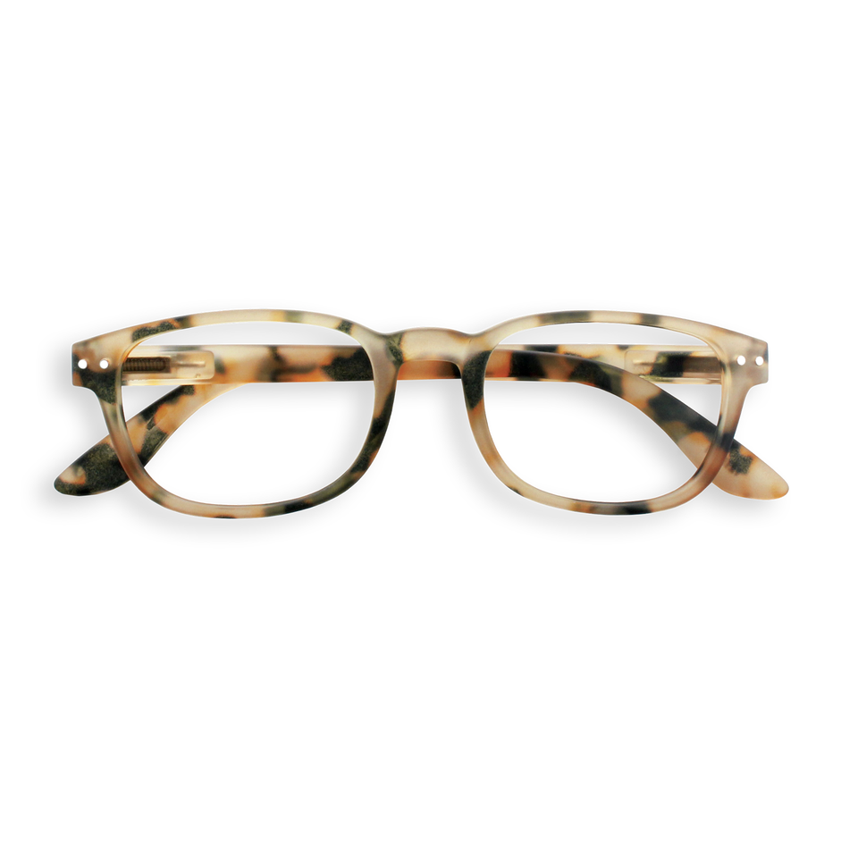 Light Tortoise #B Reading Glasses by Izipizi