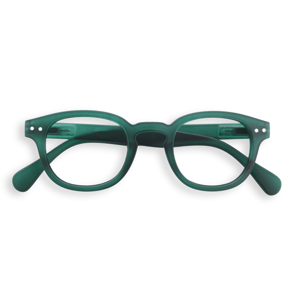 Green Crystal #C Reading Glasses by Izipizi