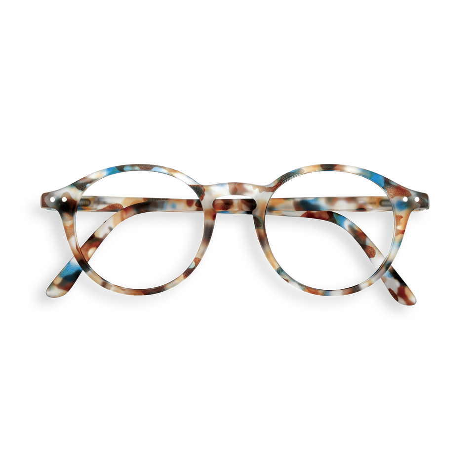 Blue Tortoise #D Reading Glasses by Izipizi