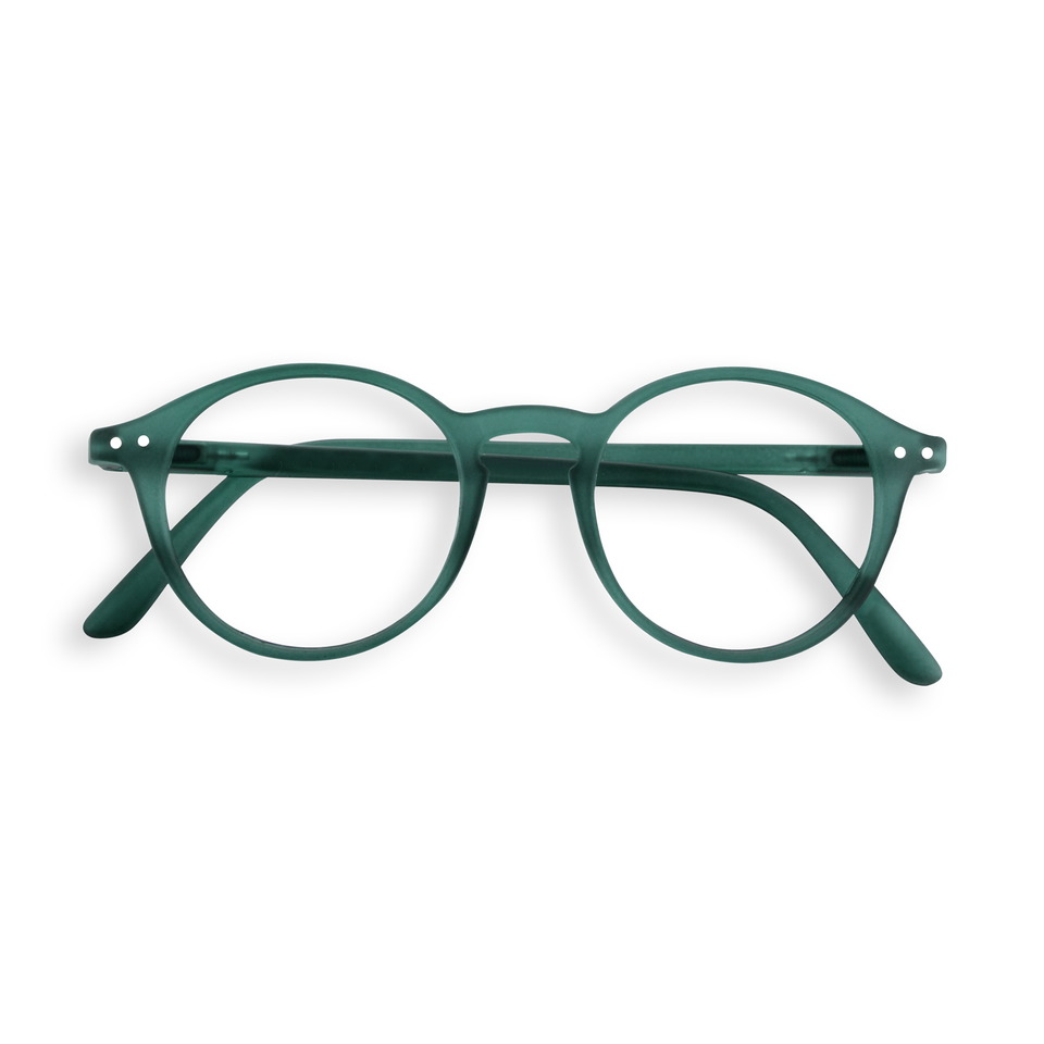 Green Crystal #D Reading Glasses by Izipizi