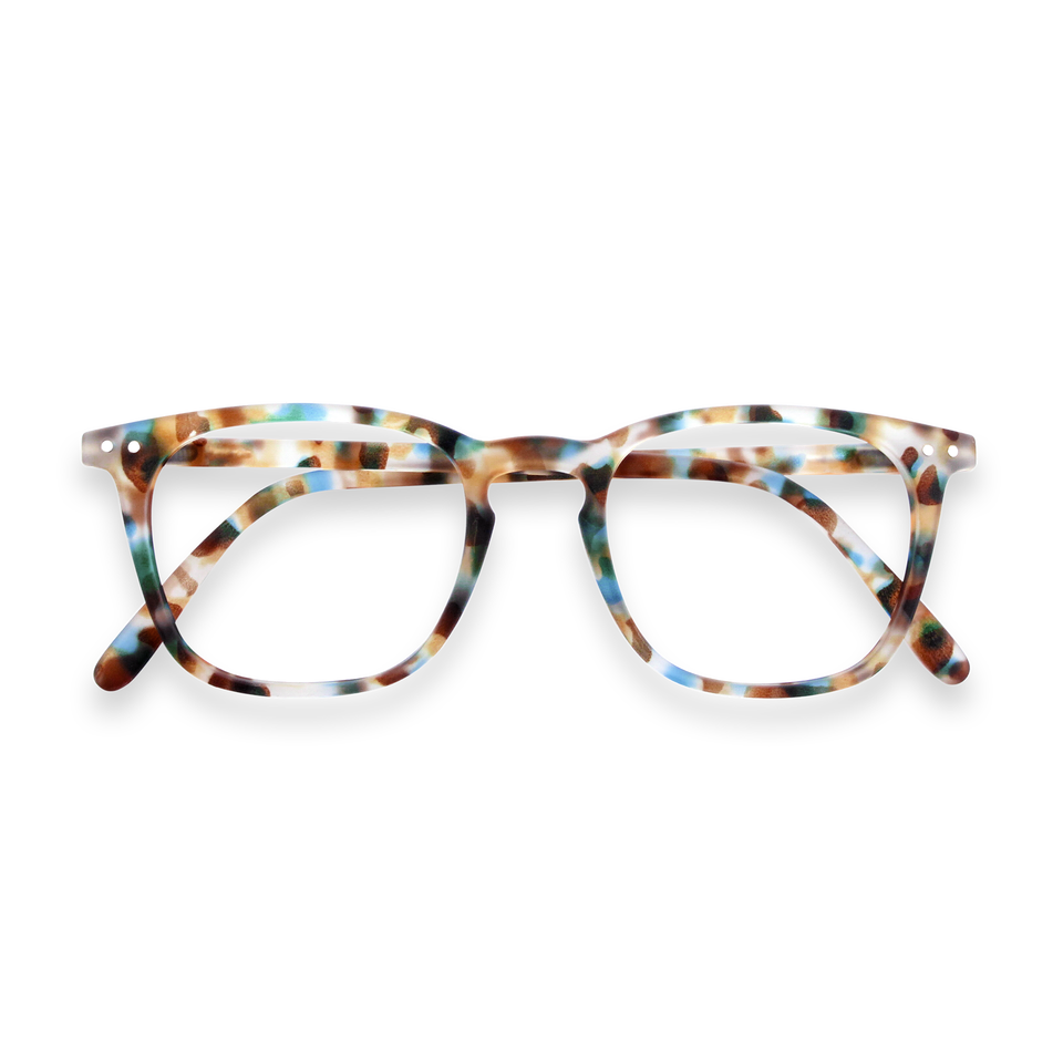 Blue Tortoise #E Reading Glasses by Izipizi