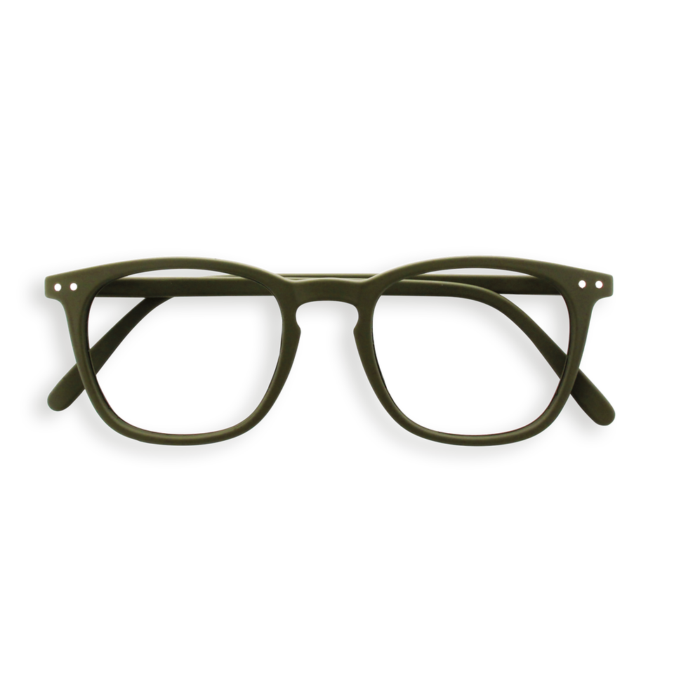Kaki Green #E Reading Glasses by Izipizi
