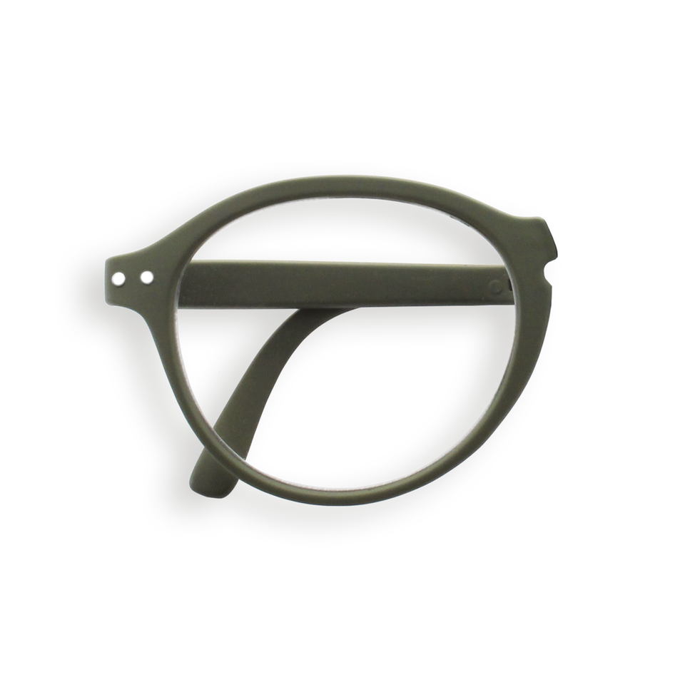 Kaki #F Foldable Reading Glasses by Izipizi