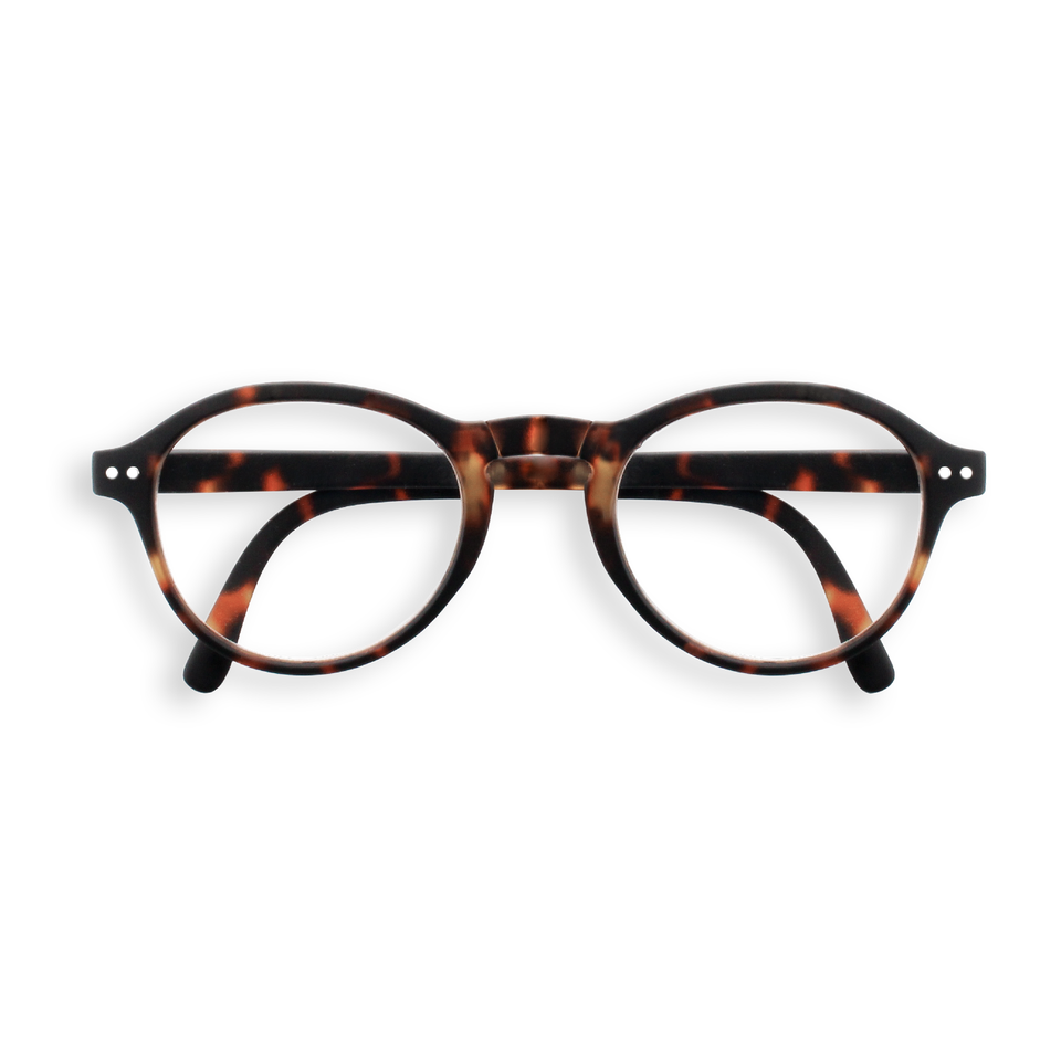 Tortoise #F Foldable Reading Glasses by Izipizi