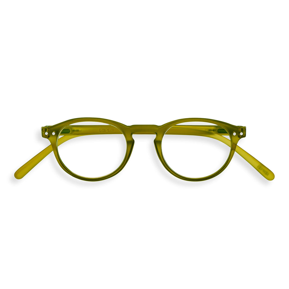 Bottle Green #A Reading Glasses by Izipizi - Glazed Ice Limited Edition