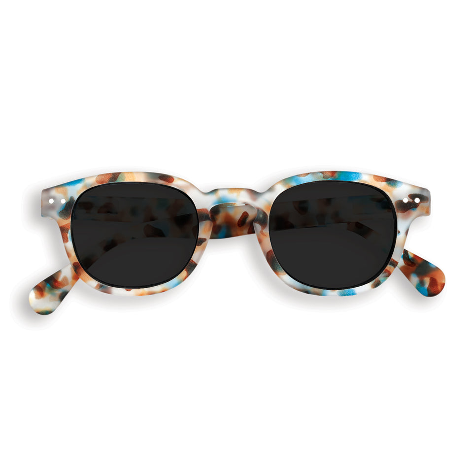 Blue Tortoise #C Sunglasses by Izipizi