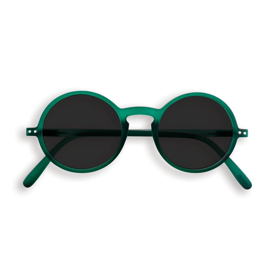 Green Crystal #G Sunglasses by Izipizi