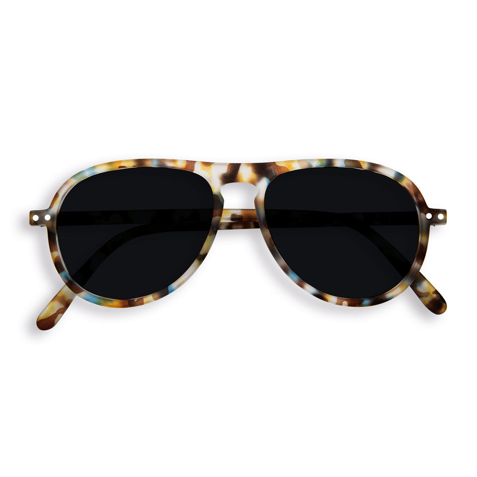 Blue Tortoise #I Aviator Sunglasses by Izipizi