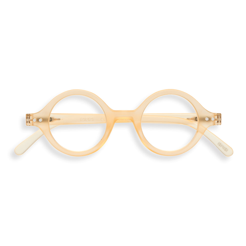 Fool's Gold #J Reading Glasses by Izipizi - Glazed Ice Limited Edition