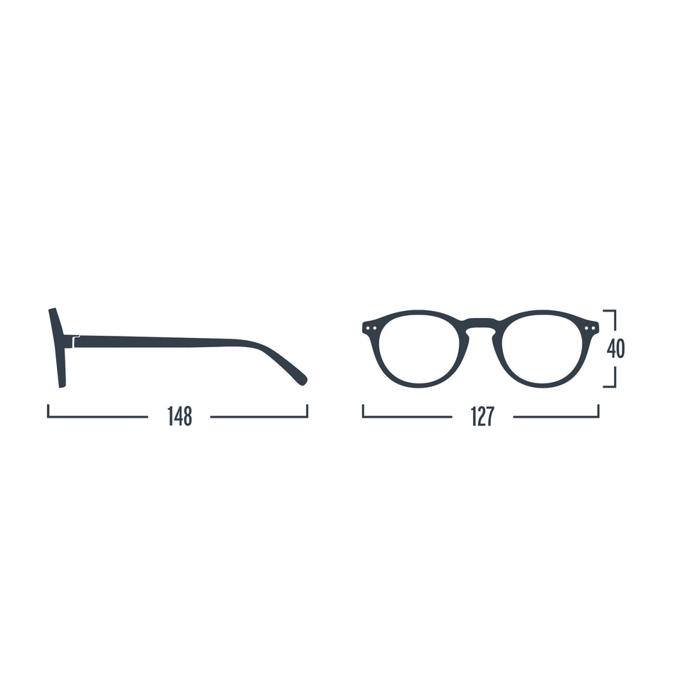 Aery Blue #A Reading Glasses by Izipizi - Limited Edition