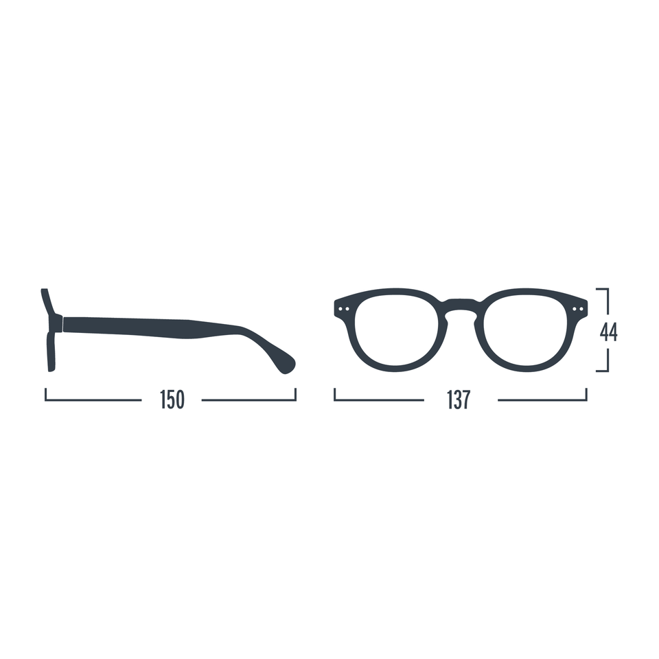 Kaki Green #C Reading Glasses by Izipizi