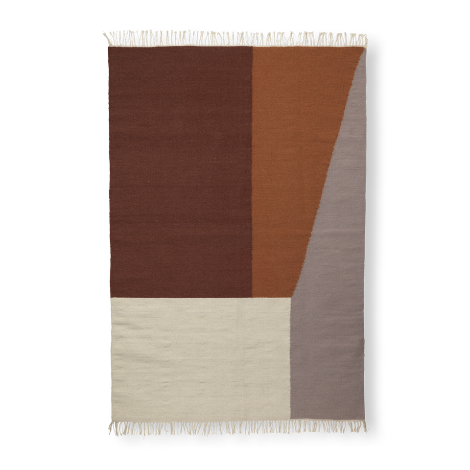 Kelim Rug - Borders by Ferm Living