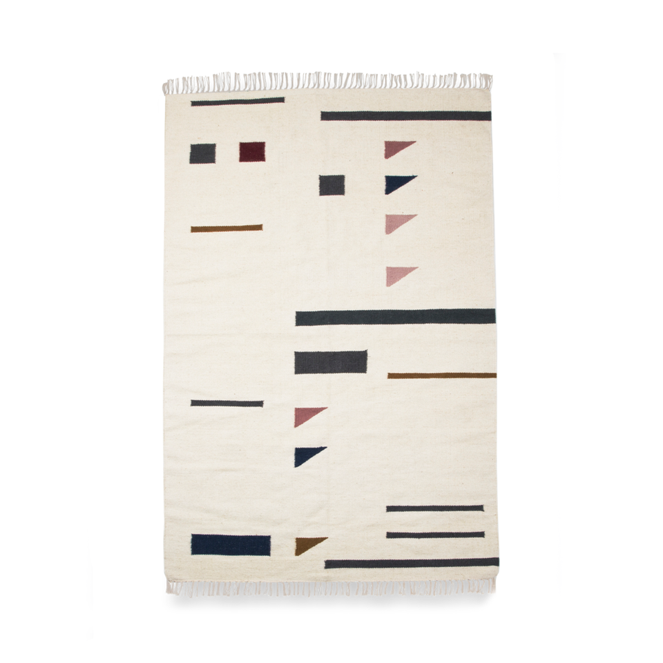 Kelim Rug - Color Triangles by Ferm Living