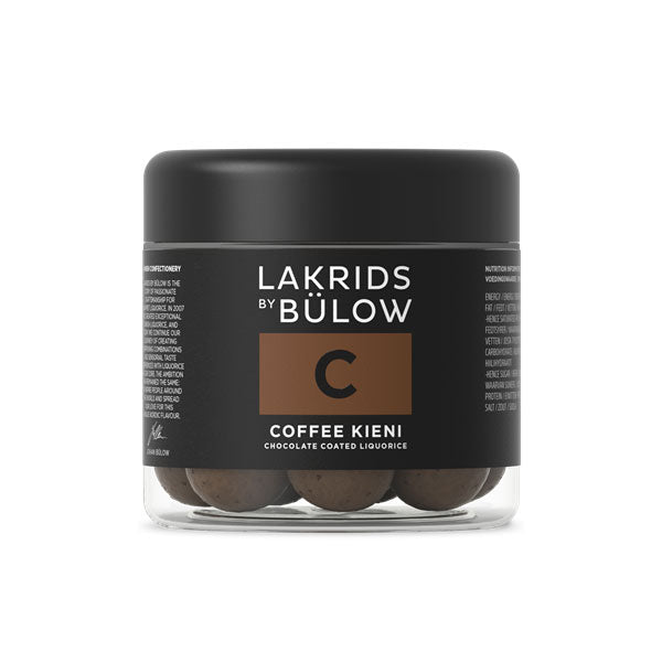 C Dark & Coffee Chocolate Coated Licorice by Lakrids