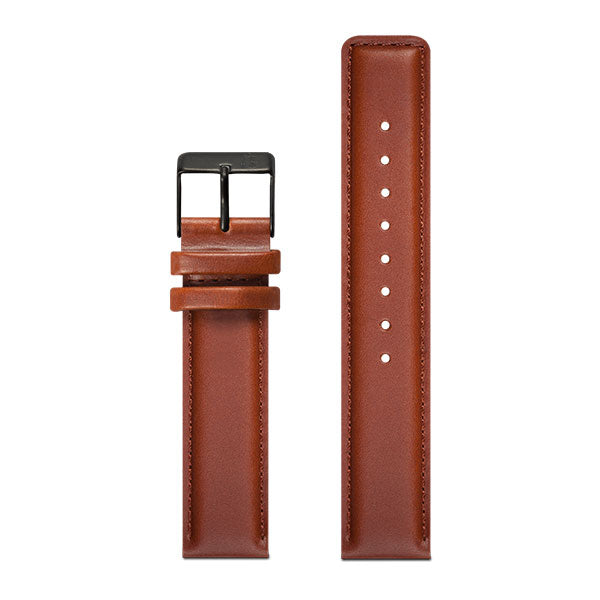 20mm Larsen & Eriksen Brown Watch Strap