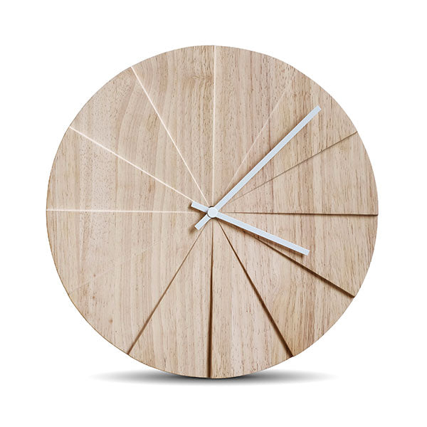 Natural Scope Wall Clock by Leff Amsterdam