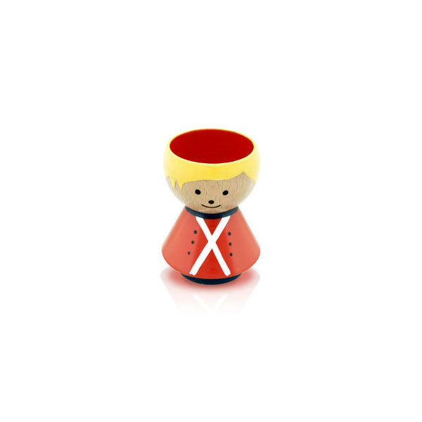 Bordfolk Egg Cup - Boy, Guard by lucie kaas - Vertigo Home
