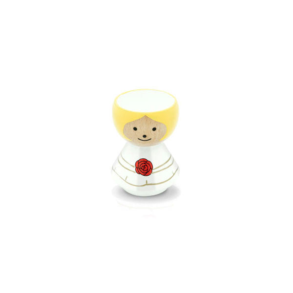 Bordfolk Egg Cup - Girl, Bride by lucie kaas - Vertigo Home