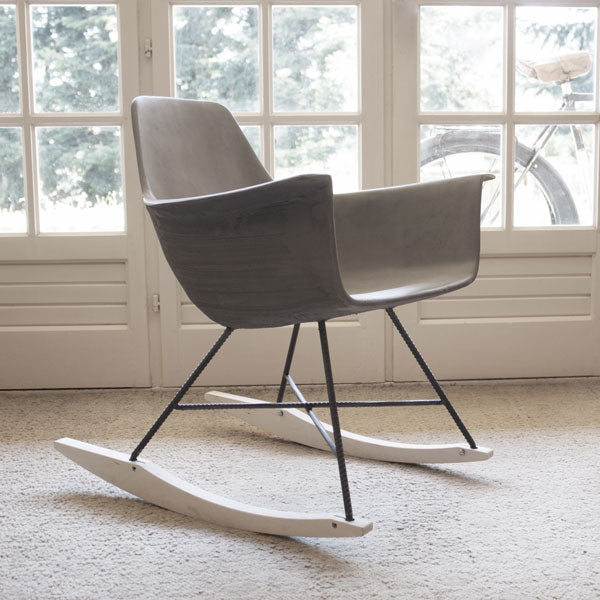 Hauteville Rocking Chair by Lyon Béton