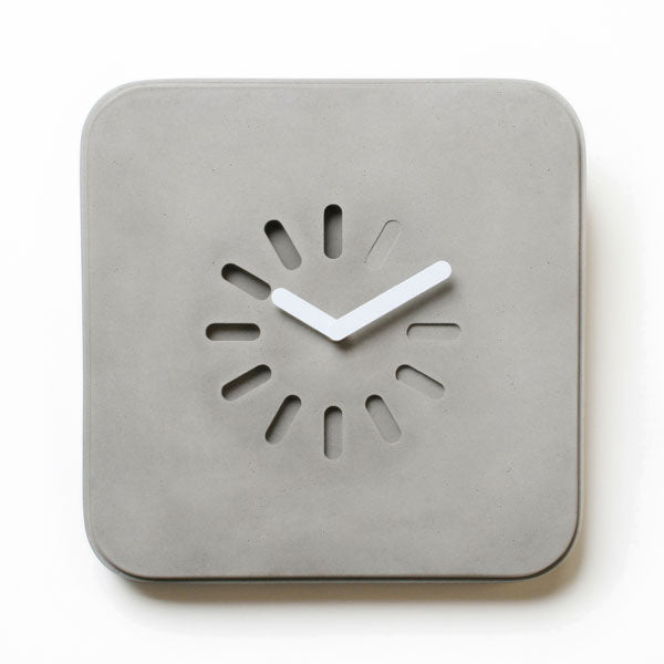 Life in Progress Clock by Lyon Béton