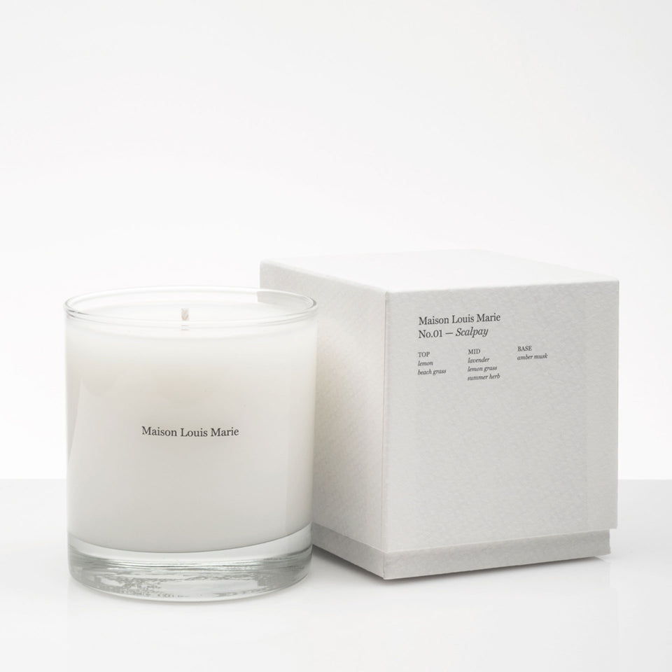 No.01 Scalpay Candle by Maison Louis Marie