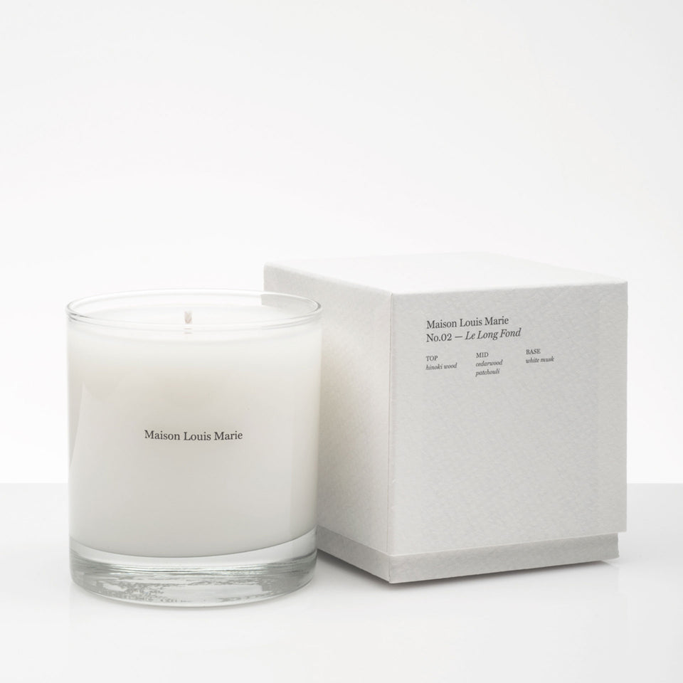 No.02 Le Long Fond Candle by Maison Louis Marie