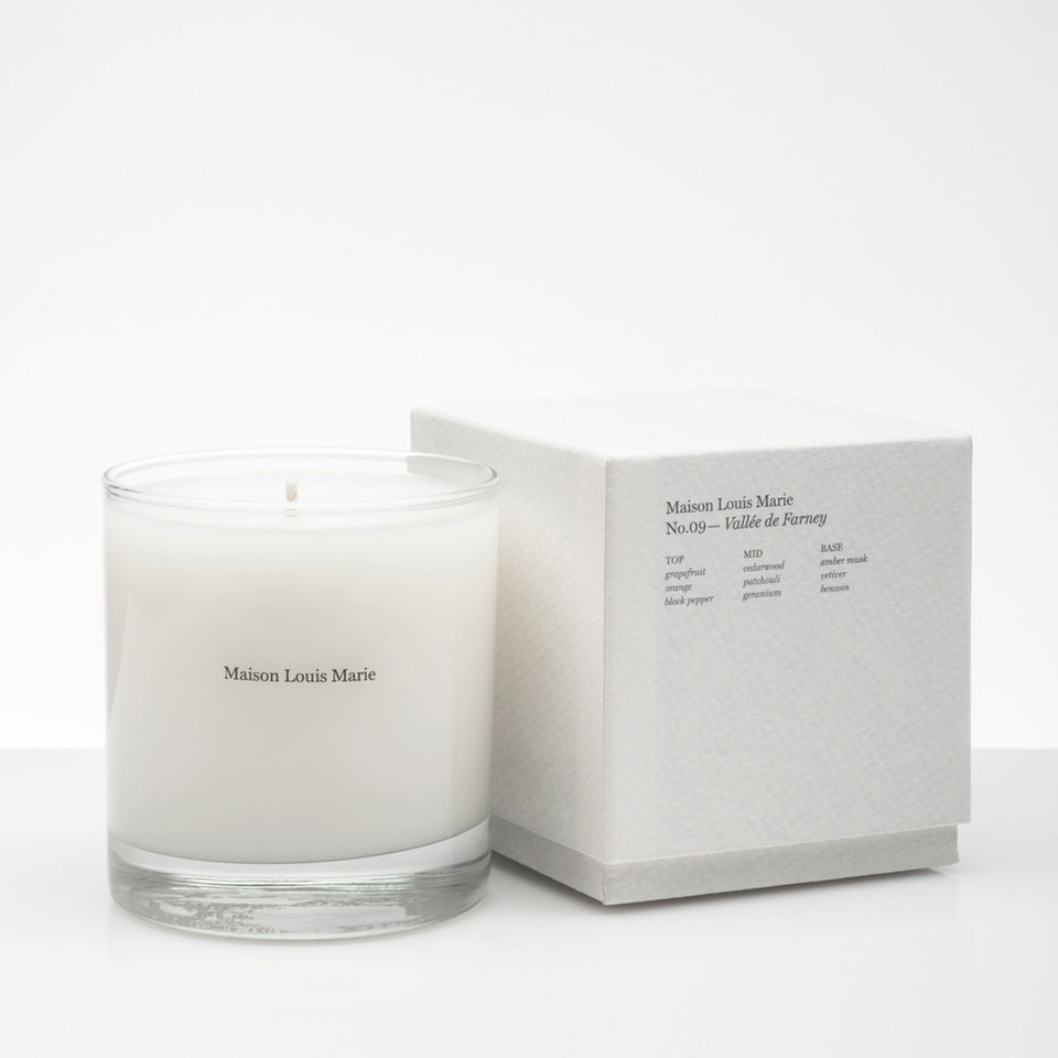 No.09 Vallée de Farney Candle by Maison Louis Marie
