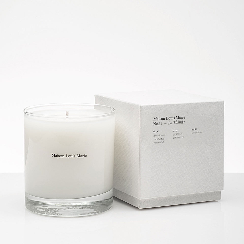No.11 La Themis Candle by Maison Louis Marie
