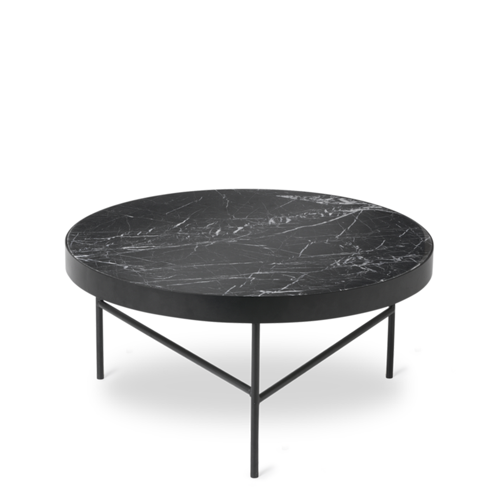 Marble Table Black Marquina by Ferm Living