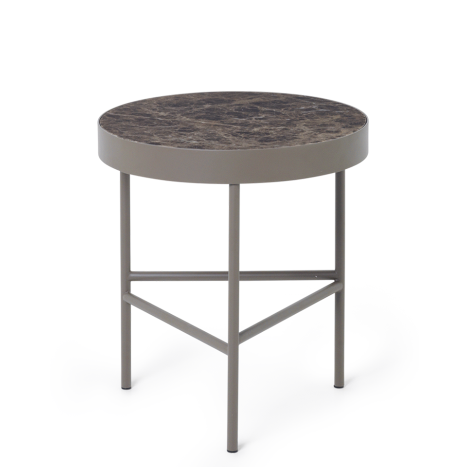 Marble Table Brown by Ferm Living