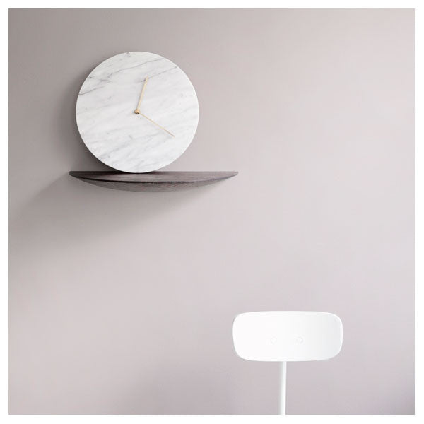 White Marble Clock by Norm Architects for Menu - Vertigo Home