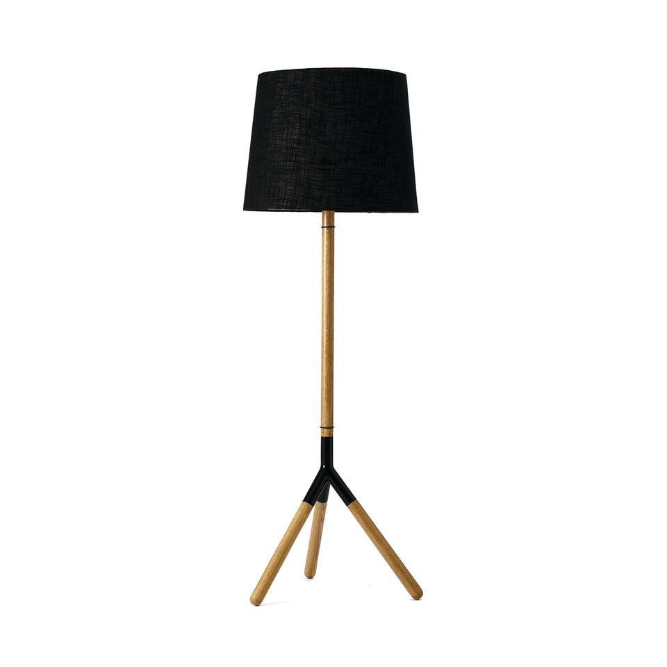 Lathe Floor Lamp by Jesper K. Thomsen & Sanne Traberg for Mater
