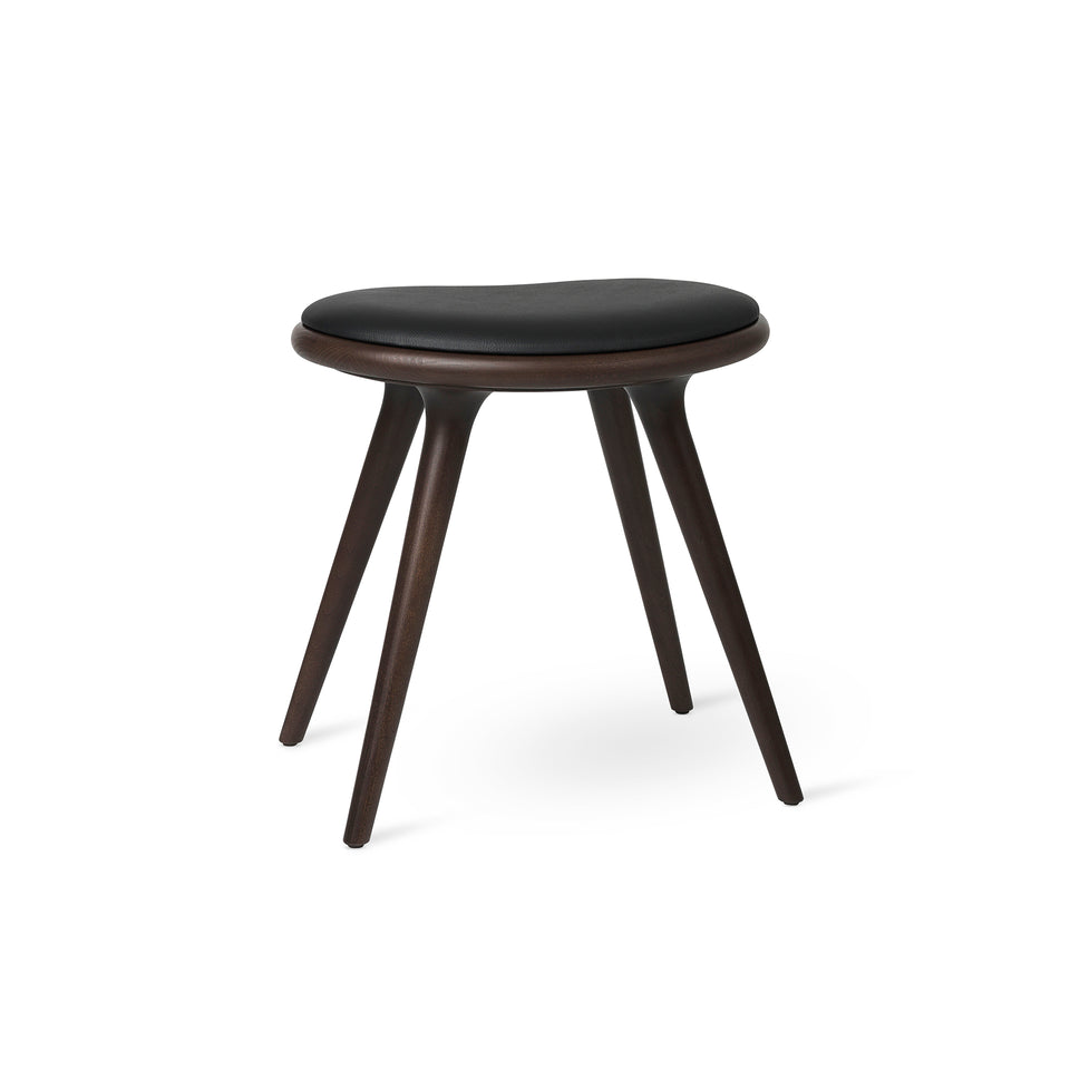 Beech Low Stool by Space Copenhagen for Mater