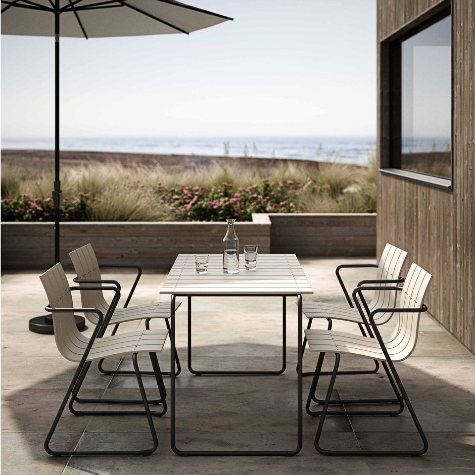 Sand Ocean Table for Four by Joergen & Nanna Ditzel for Mater