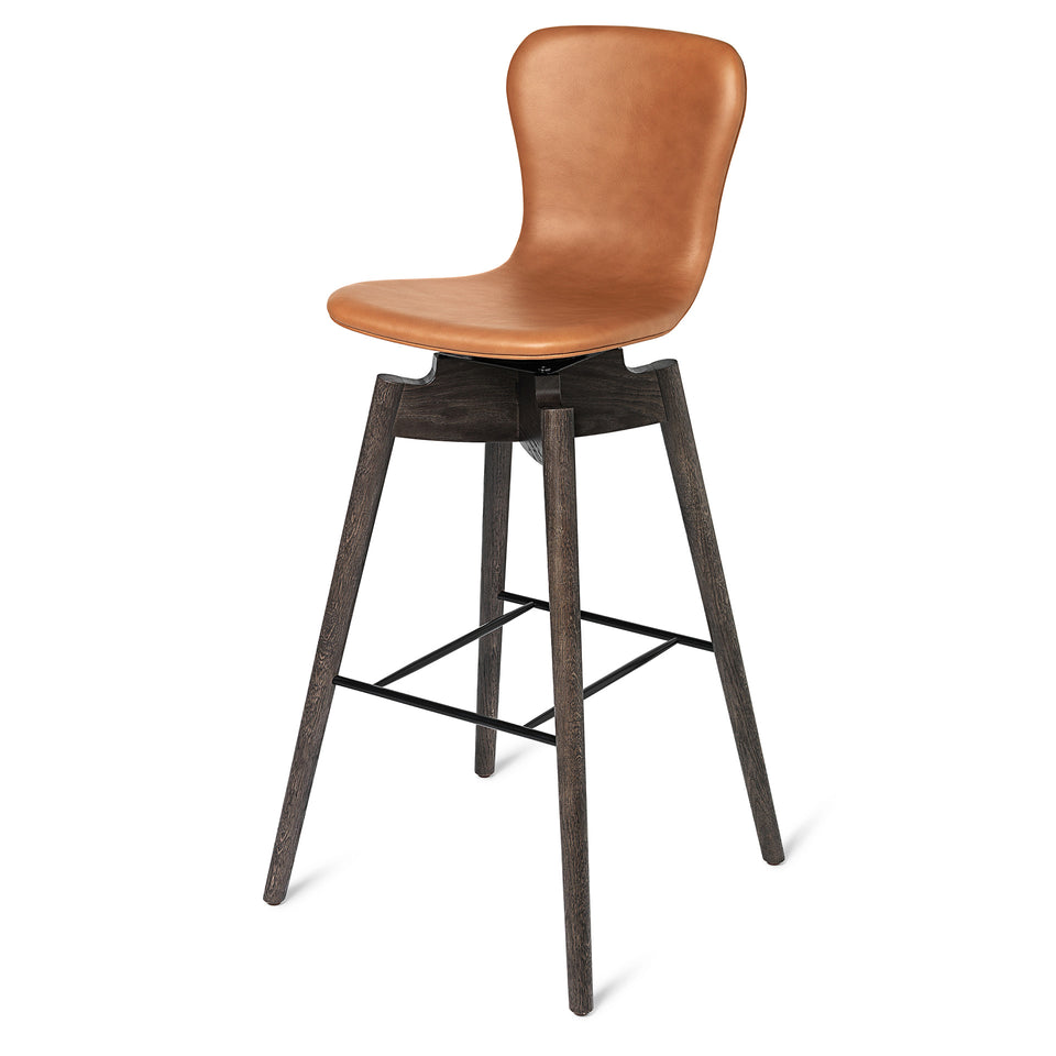 Shell Bar Stool by Michael W. Dreeben for Mater