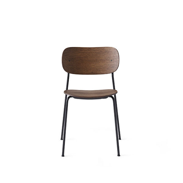 Co Chair Dining Chair - Black / Dark Oak by the Office Group & Norm Architects for Menu