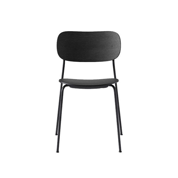 Co Chair Dining Chair - Black / Black Oak by the Office Group & Norm Architects for Menu