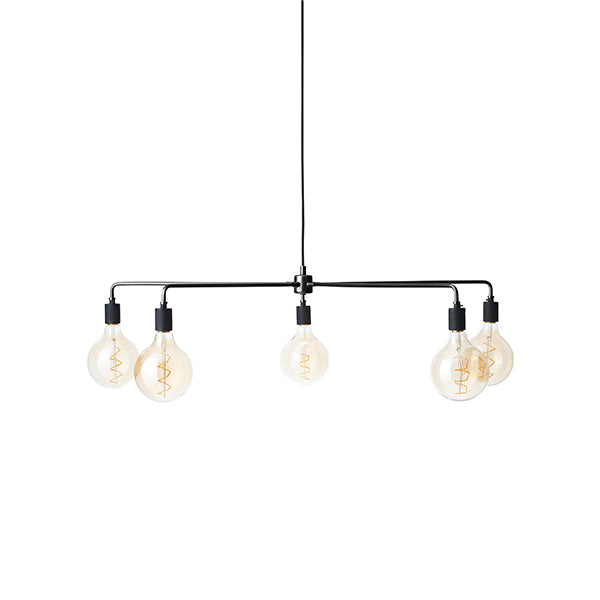 Tribeca Chambers Chandelier Large Black by Søren Rose for Menu